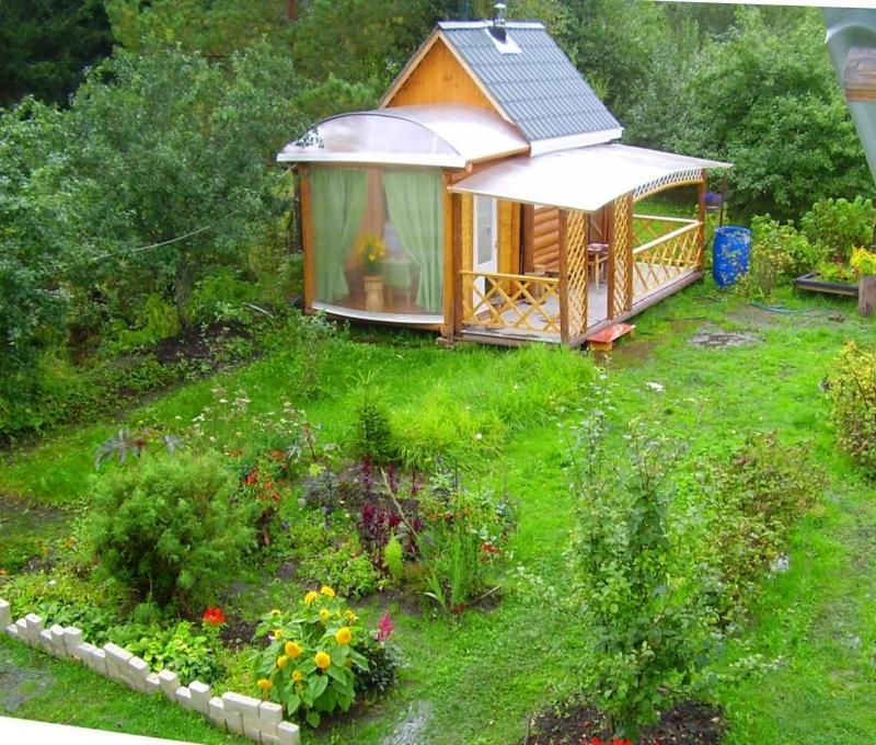 Садовая баня и ее загадки | 680x800